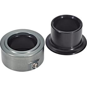 NEWMEN Road Endcap Set 15mm , harmaa/musta